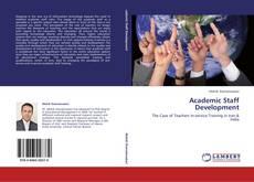 Capa do livro de Academic Staff Development