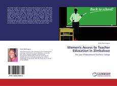 Copertina di Women's Access to Teacher Education in Zimbabwe