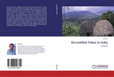 Bookcover of De-notified Tribes in India