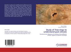 Capa do livro de Study of Tree-rings to understand past climate