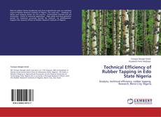 Buchcover von Technical Efficiency of Rubber Tapping in Edo State Nigeria