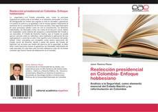 Portada del libro de Reelección presidencial en Colombia- Enfoque hobbesiano