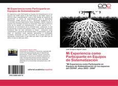 Portada del libro de Mi Experiencia como Participante en Equipos de Sistematización