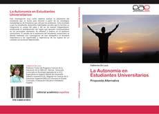Borítókép a  La Autonomía en Estudiantes Universitarios - hoz