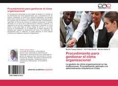 Обложка Procedimiento para gestionar el clima organizacional
