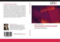 Capa do livro de Psicoanálisis<>Universidad