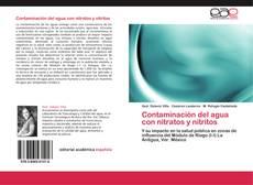 Contaminación del agua con nitratos y nitritos的封面