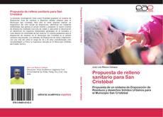 Обложка Propuesta de relleno sanitario para San Cristóbal