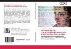 Обложка Adquisición de vocabulario con recursos multimedia e interactivos