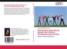 Estrategias Educativas desde una Cultura Ciudadana para la Paz的封面