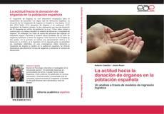 Portada del libro de La actitud hacia la donación de órganos en la población española