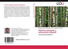 Portada del libro de Valores sexuales y educación integral