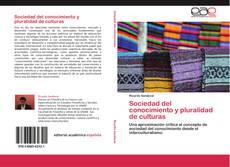 Buchcover von Sociedad del conocimiento y pluralidad de culturas