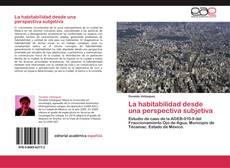 Bookcover of La habitabilidad desde una perspectiva subjetiva