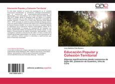 Capa do livro de Educación Popular y Cohesión Territorial
