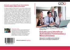 Capa do livro de Estudio para Identificar Actividades Feminizadas y Masculinizadas