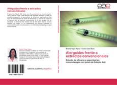 Buchcover von Alergoides frente a extractos convencionales