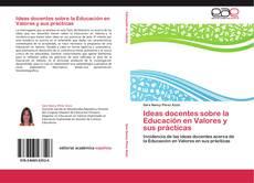 Capa do livro de Ideas docentes sobre la Educación en Valores y sus prácticas