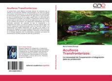Обложка Acuíferos Transfronterizos: