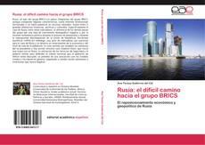 Bookcover of Rusia: el difícil camino hacia el grupo BRICS