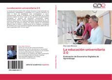 Bookcover of La educación universitaria 2.0