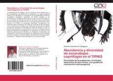 Portada del libro de Abundancia y diversidad de escarabajos coprófagos en el TIPNIS