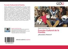 Función Cultural de la Familia:的封面