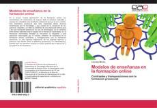 Couverture de Modelos de enseñanza en la formación online
