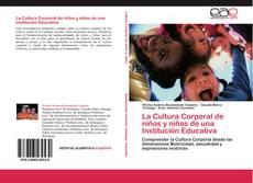 Portada del libro de La Cultura Corporal de niños y niñas de una Institución Educativa