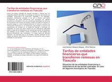 Portada del libro de Tarifas de entidades financieras que transfieren remesas en Tlaxcala