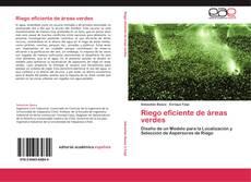 Portada del libro de Riego eficiente de áreas verdes