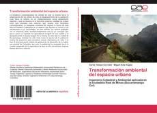 Bookcover of Transformación ambiental del espacio urbano