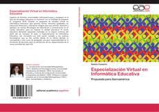 Capa do livro de Especialización Virtual en Informática Educativa