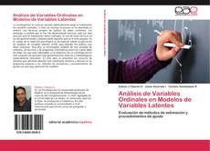 Buchcover von Análisis de Variables Ordinales en Modelos de Variables Latentes