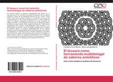 Portada del libro de El tesauro como herramienta multidialogal de saberes semióticos