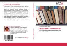 Обложка Currículum universitario: