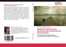 Bookcover of Modelo Teórico de la dirección de la formación permanente
