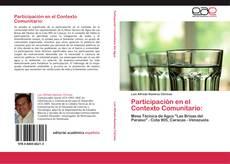 Bookcover of Participación en el Contexto Comunitario: