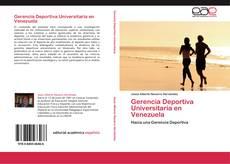 Portada del libro de Gerencia Deportiva Universitaria en Venezuela