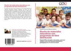 Couverture de Diseño de materiales educativos con programas de libre distribución