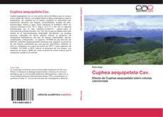 Capa do livro de Cuphea aequipetela Cav.