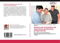 Sistema de actividades de superación profesional postgraduada kitap kapağı