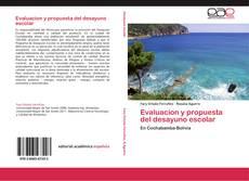 Bookcover of Evaluacion y propuesta del desayuno escolar