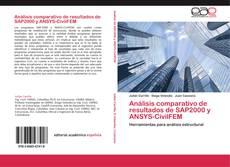 Análisis comparativo de resultados de SAP2000 y ANSYS-CivilFEM kitap kapağı