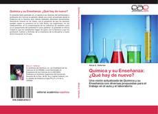 Portada del libro de Química y su Enseñanza: ¿Qué hay de nuevo?