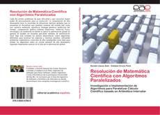 Resolución de Matemática Científica con Algoritmos Paralelizados的封面