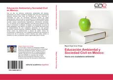 Capa do livro de Educación Ambiental y Sociedad Civil en México: