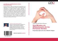 Bookcover of Una Mirada a la Alfabetización de las Personas Sordas