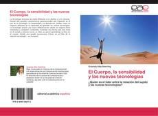Capa do livro de El Cuerpo, la sensibilidad y las nuevas tecnologías