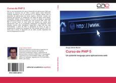 Couverture de Curso de PHP 5
